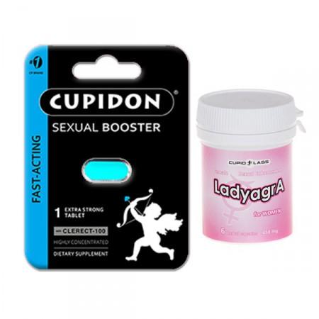 Секс стимулант Купидон + възбуждащи таблетки Ladyagra
