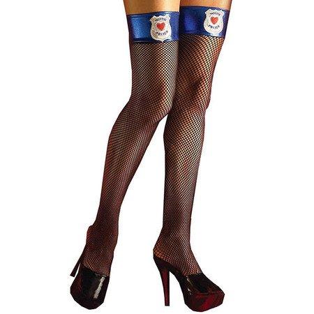 Еротични чорапи полицайка
