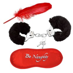 Секси комплект Be naughty in Black&Red