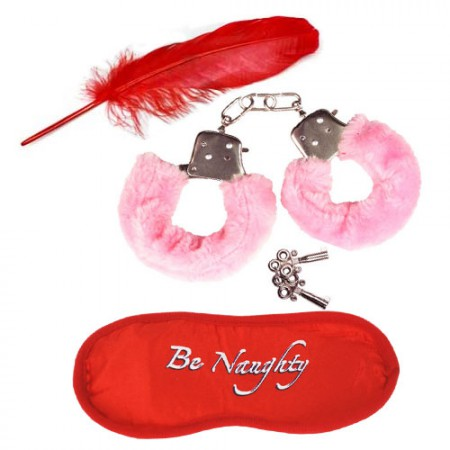 Секси комплект Be naughty in Pink