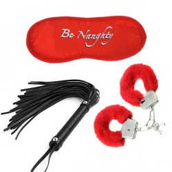 BDSM комплект Soft Bondage Kit in Red