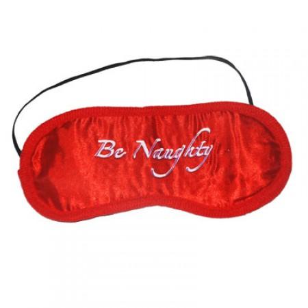 Червена маска за очи Be Naughty